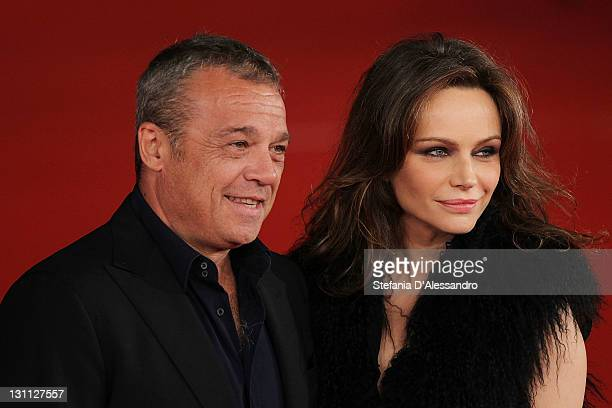 Claudio Amendola and Francesca Neri attend Il Cuore Grande Delle Ragazze Premiere during 6th International Rome Film Festival on November 1 2011 in...