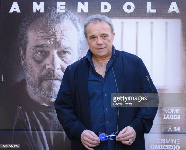 Claudio Amendola attends the photocall of 'Il Permesso'