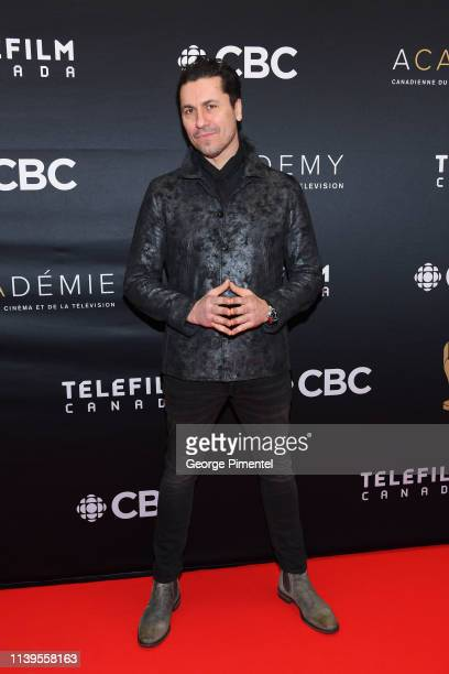 Claudio Aprile attends the 2019 Canadian Screen Awards Broadcast Gala at Sony Centre for the Performing Arts on March 31 2019 in Toronto Canada