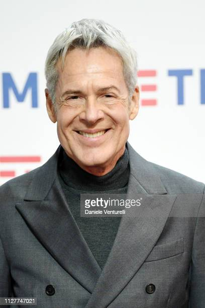 Claudio Baglioni attends a photocall on the second day of the 69 Sanremo Music Festival at Teatro Ariston on February 06 2019 in Sanremo Italy