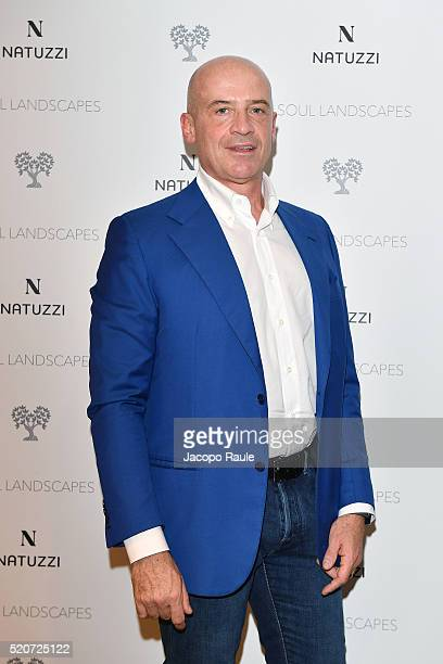 Claudio Bellini attends Natuzzi Soul Landscapes on April 12, 2016 in Milan, Italy.