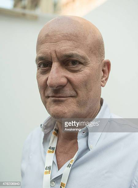 Claudio Bisio attends Day 3 of RepIdee on June 6 2015 in Genoa Italy RepIdee is a community meeting of the Repubblica newspaper with autors writers...