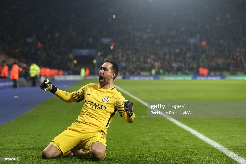 Leicester City v Manchester City - Carabao Cup Quarter-Final : News Photo