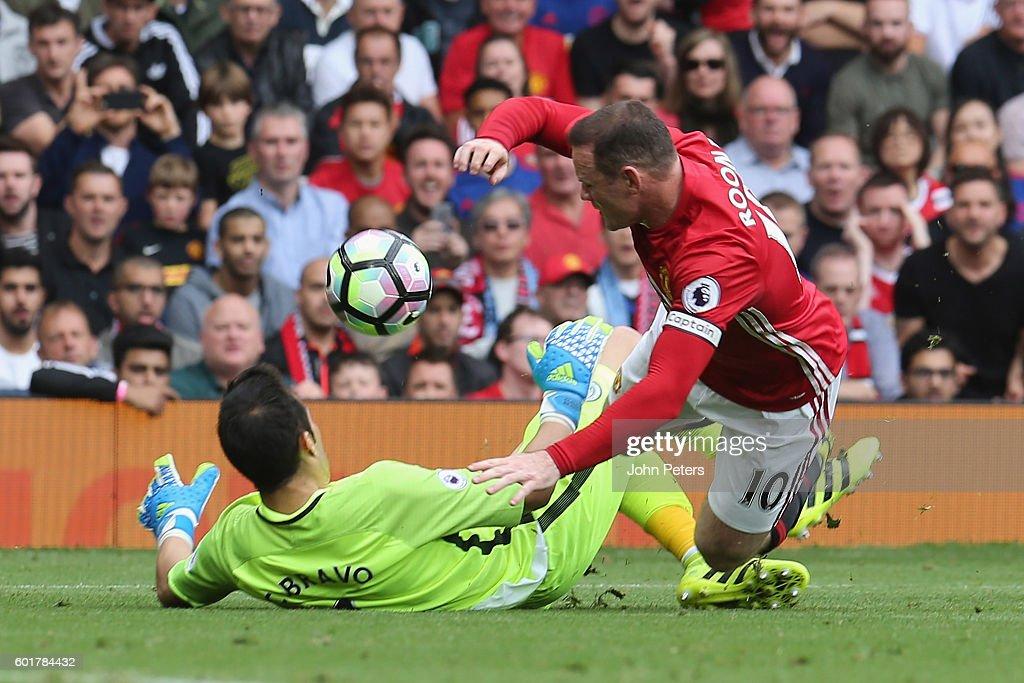 Manchester United v Manchester City - Premier League : Nieuwsfoto's