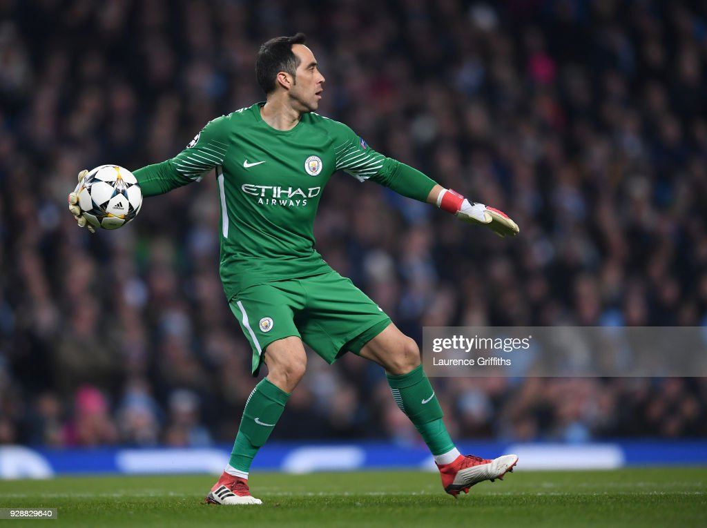 Manchester City v FC Basel - UEFA Champions League Round of 16: Second Leg : News Photo