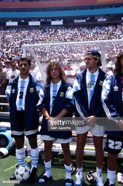 Claudio Caniggia Argentine / Roumanie 1/8emeFinale Coupe du Monde 1994 Photo Alain Gadoffre / Icon Sport