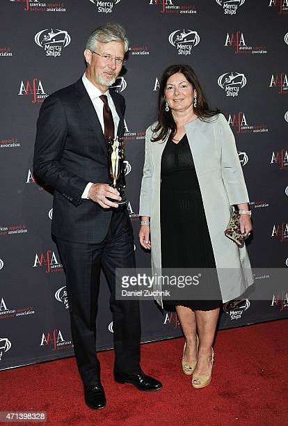 Claudio Del Vecchio attends the AAFA American Image Awards at 583 Park Avenue on April 27 2015 in New York City