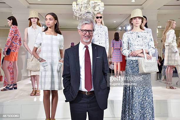 Claudio del Vecchio attends the Brooks Brothers SS 2016 Presentation With Zac Posen on September 12 2015 in New York City