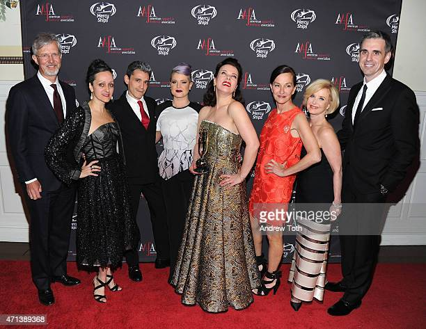 Claudio Del Vecchio Isabel Toledo Ruben Toledo Kelly Osbourne Debi Mazar Cynthia Rowley Juanita D Duggan and Mark Derbyshire attend the 2015 AAFA...