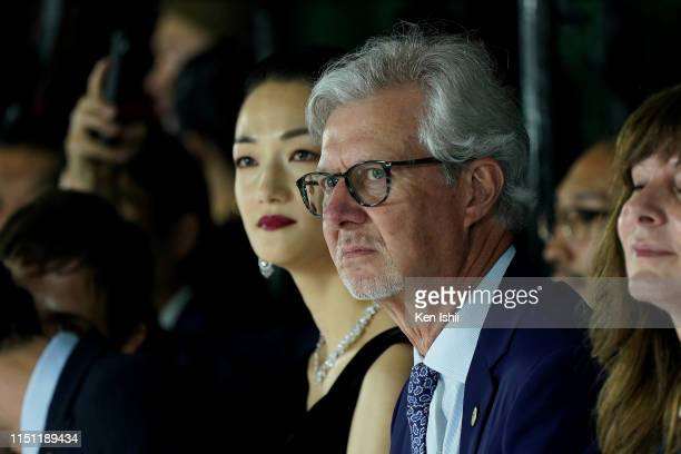 Claudio Del Vecchio looks on during the Brooks Brothers special runway show celebrating its 40th anniversary in Japan on May 23, 2019 in Tokyo, Japan.