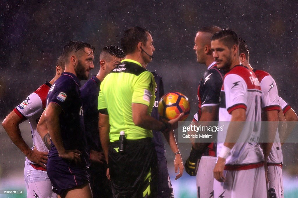 ACF Fiorentina v FC Crotone - Serie A : News Photo