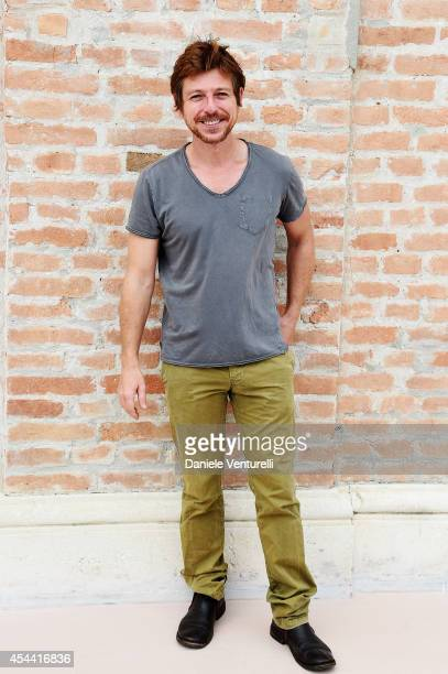 Claudio Gioe attends the Kineo Award Photocall during the 71st Venice Film Festival at Hotel Excelsior on August 31 2014 in Venice Italy