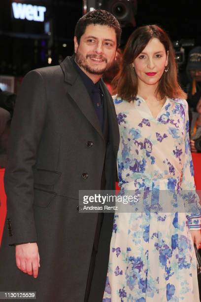 Claudio Giovannesi and Manuela Sparta arrive for the closing ceremony of the 69th Berlinale International Film Festival Berlin at Berlinale Palace on...