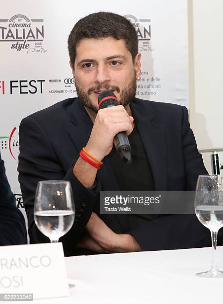 Claudio Giovannesi attends the Cinema Italian Style press conference at Mr C Beverly Hills on November 16 2016 in Beverly Hills California