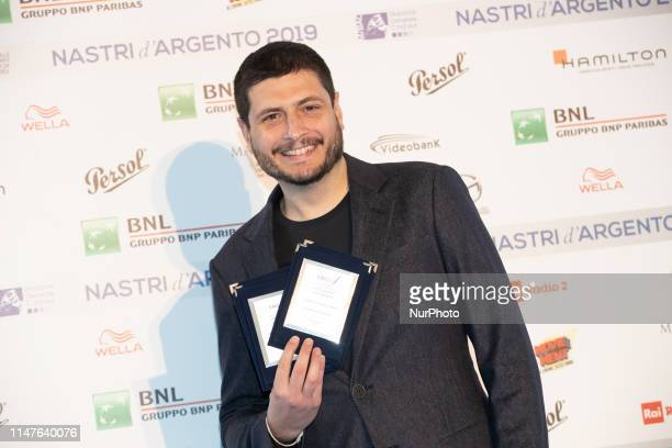 Claudio Giovannesi attends the photocall ahead of the Nastri D'Argento 2019 nominees presentation at Maxxi Museum on May 30 2019 in Rome Italy