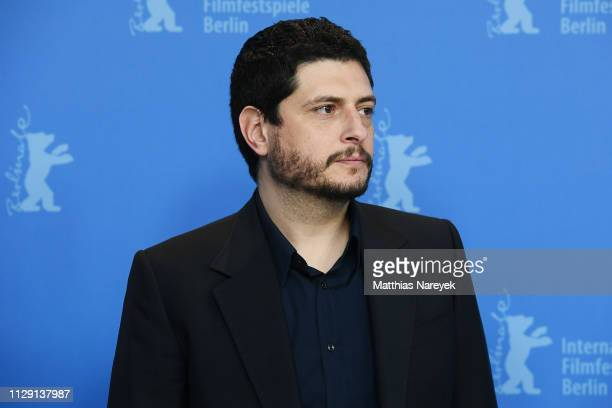 Claudio Giovannesi poses at the Piranhas photocall during the 69th Berlinale International Film Festival Berlin at Grand Hyatt Hotel on February 12...