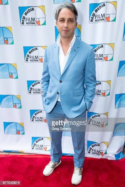 Claudio Lavanga attends the 9th Annual New Media Film Festival at James Bridges Theater on June 16 2018 in Los Angeles California