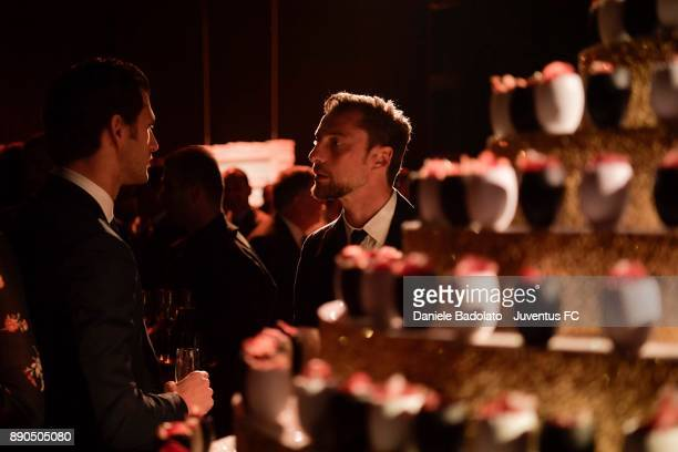 Claudio Marchisio attends the Juventus Institutional Christmas Dinner on December 11 2017 in Turin Italy