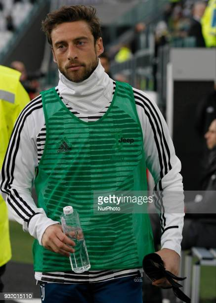 Claudio Marchisio during Serie A match between Juventus v Atalanta in Turin on March 14 2018