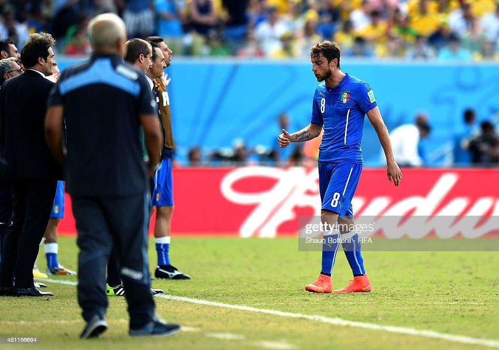 Italy v Uruguay: Group D - 2014 FIFA World Cup Brazil