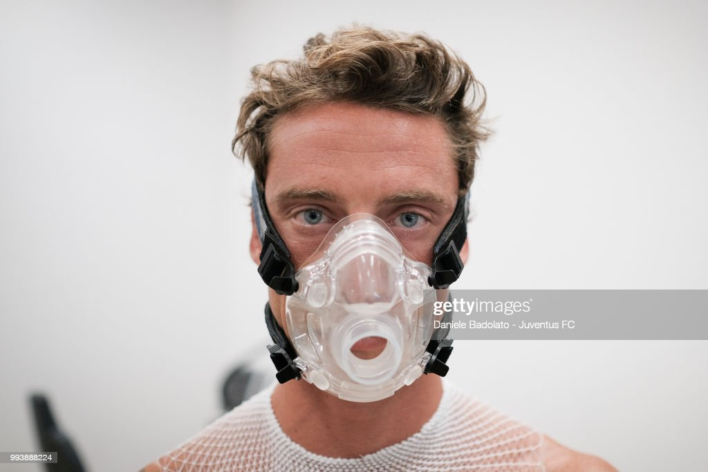 Claudio Marchisio of Juventus attends medical tests at Jmedical on July 8, 2018 in Turin, Italy.