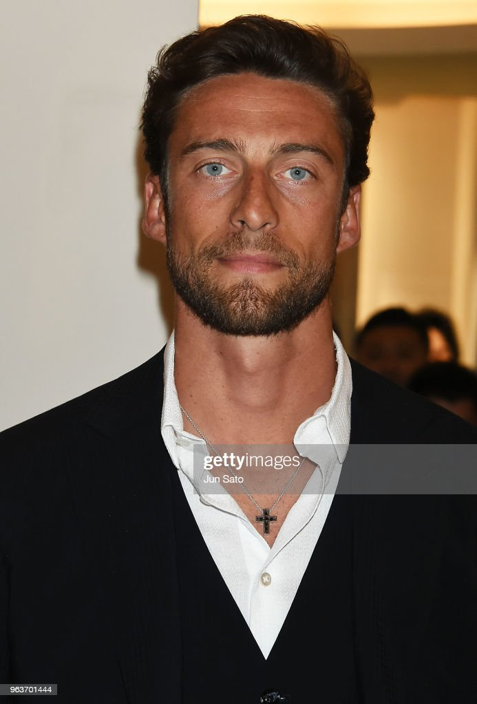 Claudio Marchisio Visits The Damiani Ginza Store