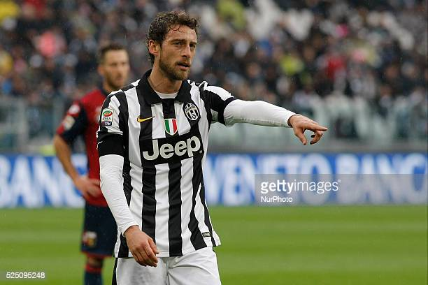Claudio Marchisioduring the Serie A match between Juventus FC and Genoa CFC at Juventus Stafium on march 22 2015 in Torino Italy