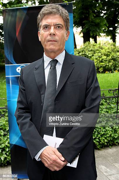 Claudio Martelli attends 'Il libro della Repubblica' press conference on May 4 2009 in Milan Italy