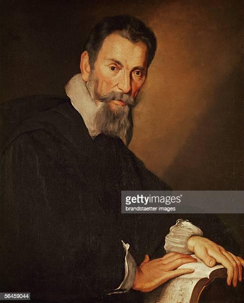 Claudio Monteverdi composer Oil on Canvas [Claudio Monteverdi Komponist oel/Lwd]