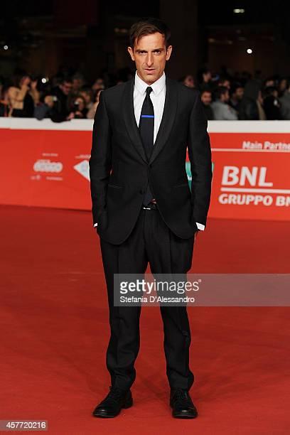 Claudio Noce attends the 'La Foresta Di Ghiaccio' Red Carpet during the 9th Rome Film Festival on October 23 2014 in Rome Italy