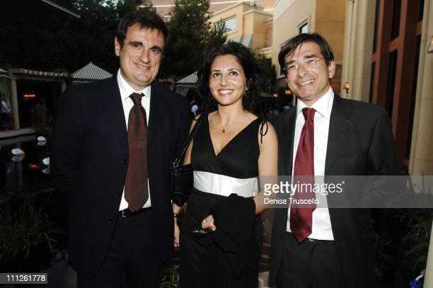 Claudio Pascalucci ICE Torino Alessandra Ferri ICE Los Angeles and Davide Sandalo Assossore Regione Piemonte