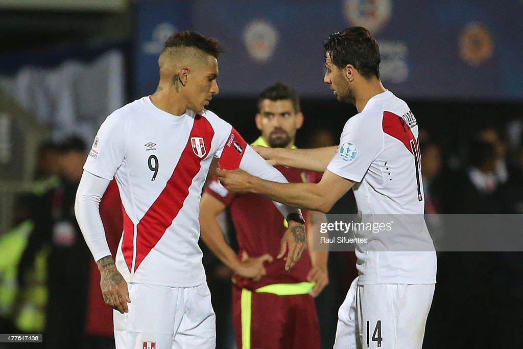 Peru v Venezuela: Group C - 2015 Copa America Chile