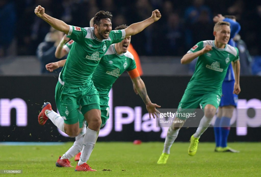 DEU: Hertha BSC v SV Werder Bremen - Bundesliga