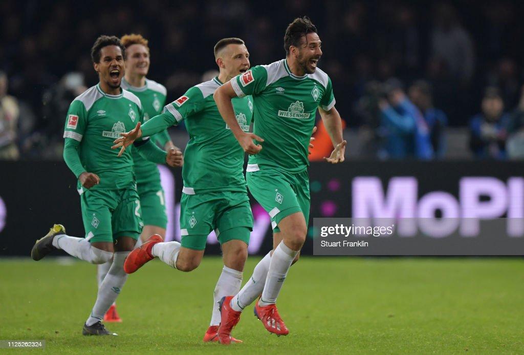 Hertha BSC v SV Werder Bremen - Bundesliga : News Photo