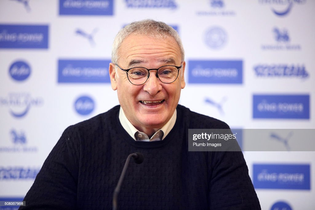 Leicester City Training Session & Press Conference : News Photo