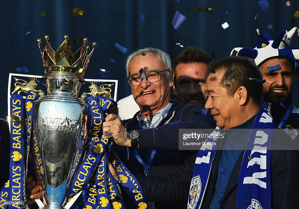 Leicester City Barclays Premier League Winners Bus Parade : News Photo