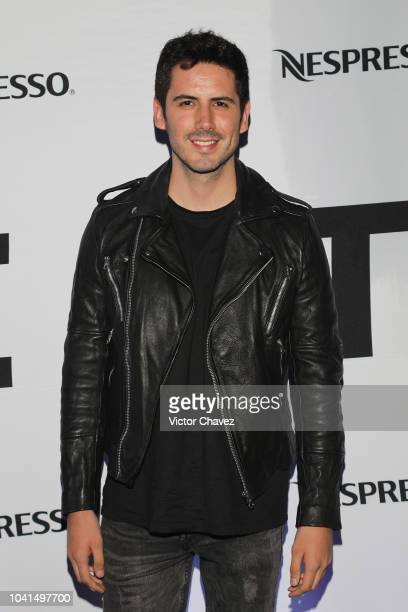 Claudio Roca attends the Nespresso Vertuo launch on September 26 2018 at Piacere in Mexico City Mexico
