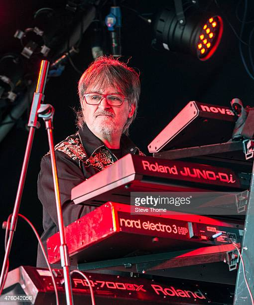 Claudio Simonetti of Claudio Simonetti's Goblin performs at the Lunar Festival on June 5 2015 in TanworthinArden United Kingdom