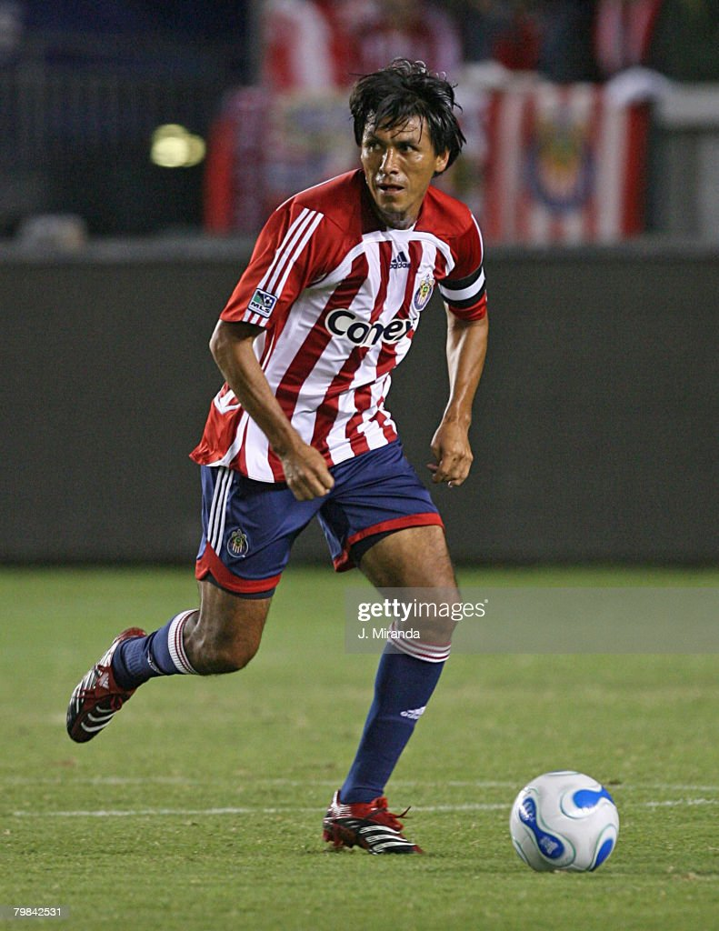 Claudio Suarez #2 of Chivas USA in action against Houston Dynamo at The Home Depot Center October 20, 2007 in Carson, California. Chivas takes the regular season Western Conference title following a scoreless draw with Dynamo.