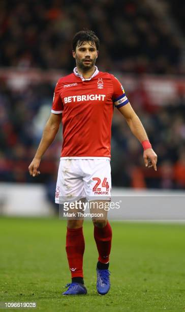 Claudio Yacob of Nottingham Forest in action during the Sky Bet Championship match between Nottingham Forest and Bristol City at City Ground on...