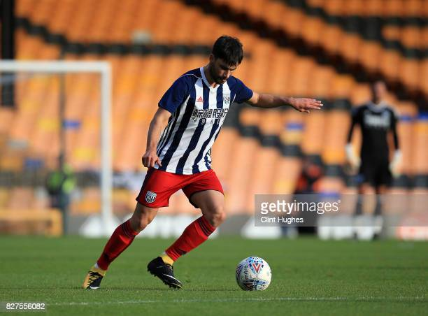 Claudio Yacob of West Bromwich Albion during the pre season friendly match against Port Vale at Vale Park on August 1 2017 in Burslem England