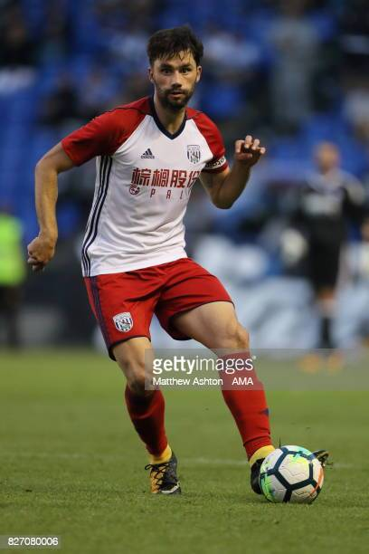 Claudio Yacob of West Bromwich Albion during the PreSeason Friendly between Deportivo de La Coruna and West Bromwich Albion on August 5 2017 in La...