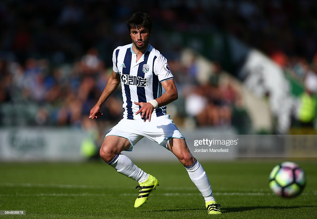 Plymouth v West Bromwich Albion - Pre-Season Friendly : News Photo