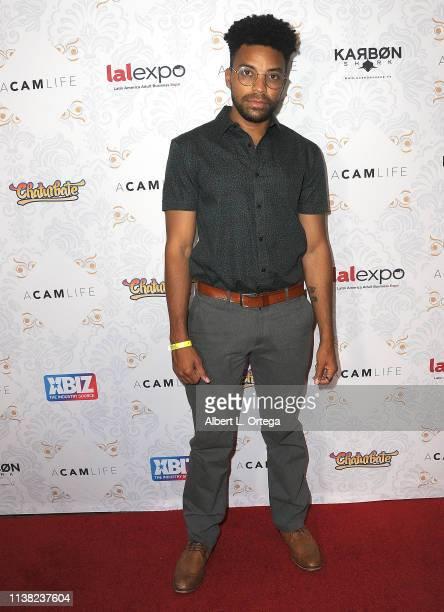 Claudis Bridgefort arrives for the premiere of Gravitas Ventures' 'A Cam Life' held at Regal Cinemas LA Live on April 19 2019 in Los Angeles...