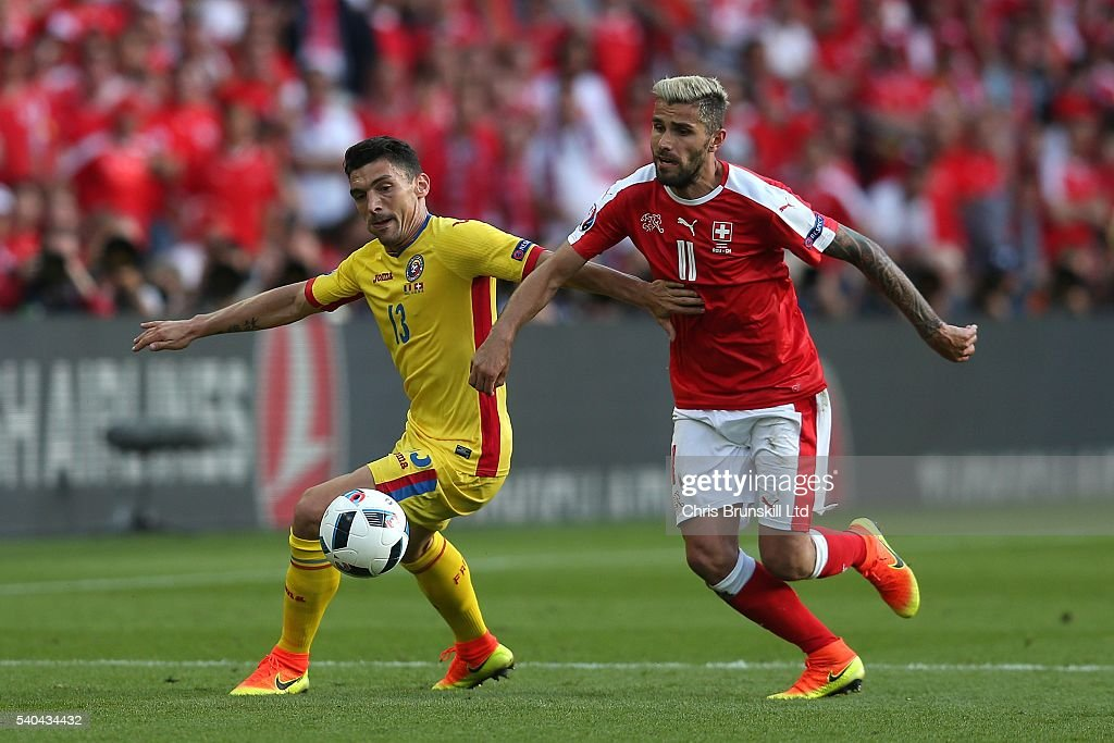 Romania v Switzerland - Group A: UEFA Euro 2016 : News Photo