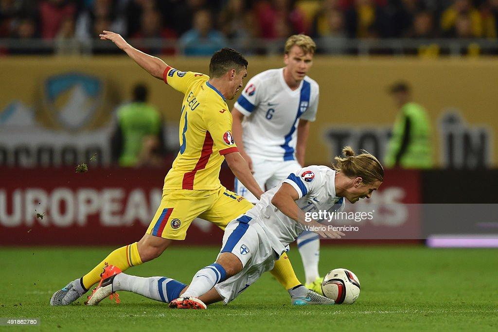 Romania v Finland - UEFA EURO 2016 Qualifier : News Photo