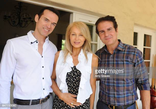 Claudiu Raymond Carol Savenkoff and Vincent De Paul attend the Charmaine Blake Ultra Gold EMMY Gifting Suite at a private residence on September 15...