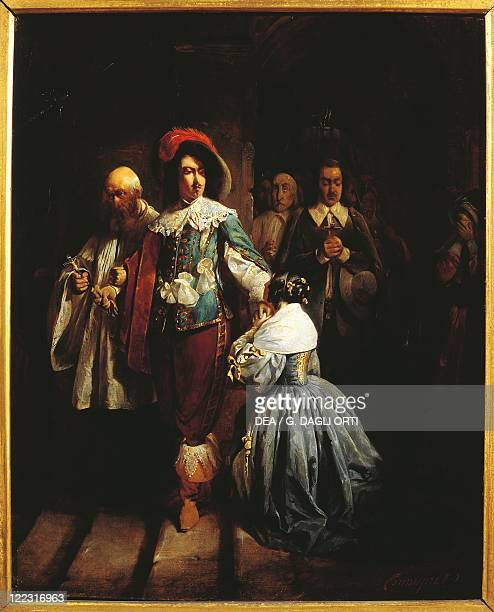 Claudius or Claude Jacquand Charles I of England Being Leaded to Death 1645