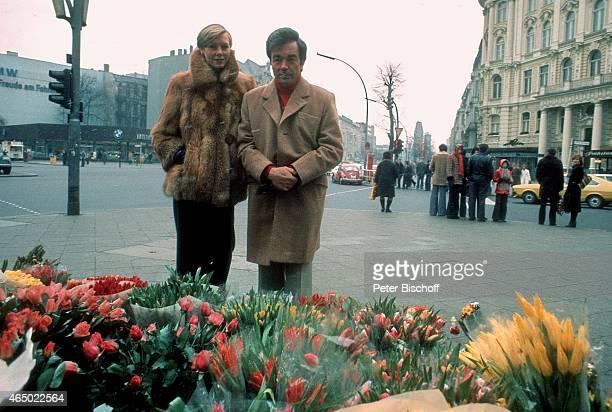 Claus Biederstaedt Ehefrau Barbara am in Berlin Deutschland