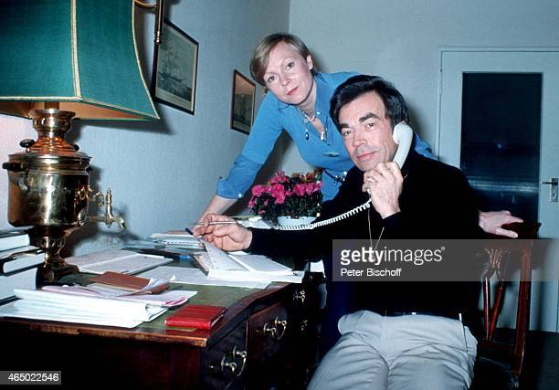 Claus Biederstaedt Ehefrau Barbara Homestory am in Berlin Deutschland